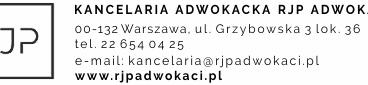Bezpłatne praktyki dla studentów administracji w Kancelarii RJP Adwokaci